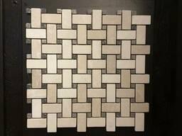 Мозаика из мрамора и травертина
