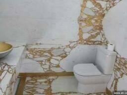Мрамор для ванной комнаты, Мраморная ванная, Мрамор