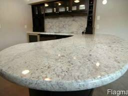Мрамор гранит кухни кухонная мебель дизайн плитка - фото 3