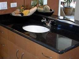 Мрамор гранит кухни кухонная мебель дизайн плитка - фото 5