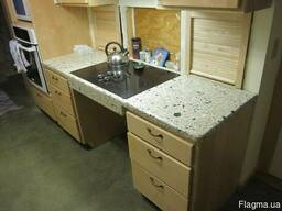 Мрамор гранит кухни кухонная мебель дизайн плитка - фото 8
