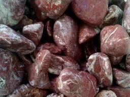 Мраморная галька королевская розовая 10-20мм