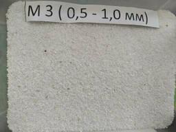 Мраморная крошка, М3  0, 5 мм-1, 0 мм, белая, Nigtas. ..