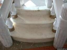 Мраморная лестница. Лестница мрамор, гранит Киев, Днепр.