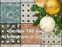 Мраморная мозаика, мрамор (плитка), не стеклянная мозаика
