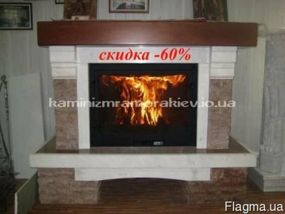 "Мраморный камин ""Кантри"" - скидка -60%"