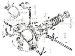 Рычаг включения в сборе 150.20.027-2 к тракторам Т-150, ХТЗ