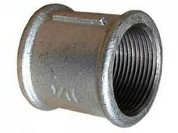 Муфта сталева ф25 (оцинк) У