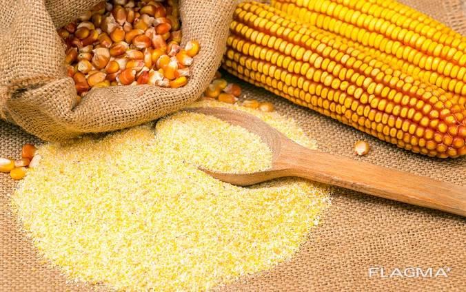 Мука кукурузная крупного грубого помола