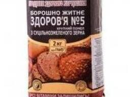 """Мука ржаная """"Здоровье"""" грубого помола, 2 кг"""