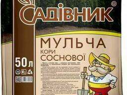 "Мульча ""Садовник"" с коры, фракция (0-5 мм), 50л"