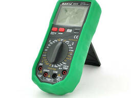 Мультиметр Bakku BA-890A Измерения: V, A, R, C (200*130*56) 0.52 кг (180*90*45)