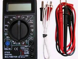 Мультиметр тестер DT-838 звуковая прозвонка и термопара