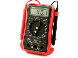 Мультиметр UNI-T UT30C Измерения: V, A, R, C