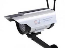 Муляж обманка камеры видеонаблюдения на солнечной батарее