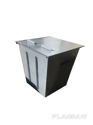 Мусорный бак контейнер для сбора ТБО 0.75 м куб.