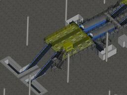 Мусоросортировочный комплекс . Линия сортировки отходов