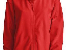 Кофта красная мужская флис корпоративная одежда спецодежда