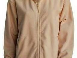 Мужская флисовая куртка цвет песочный в наличие
