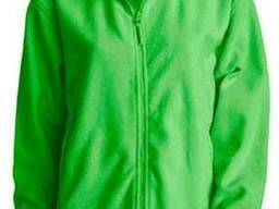 Флисовая кофта цвет трава мужская