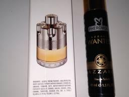 Мужская парфюмированная вода azzaro wanted с феромонами 45 мл