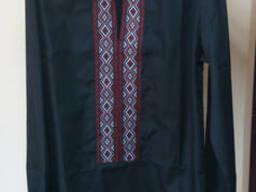 Мужская сорочка-вышиванка с украинской тесьмой