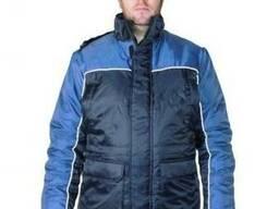 """Мужская зимняя рабочая куртка """"ИТР"""" утеплённая оксфорд"""