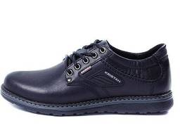 Мужские кожаные туфли Kristan black