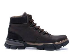 Мужские зимние кожаные кроссовки icefield Chocolate Classic (реплика)