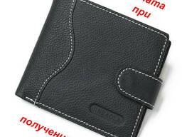 Мужской чоловічий натуральный кожаный кошелек портмоне. ..