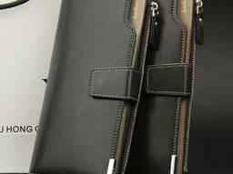 Мужской клатч Baellerry Business 2019 Темно-коричневый