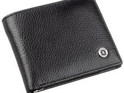 Мужской кошелек с зажимом Boston Черный, Черный Bstn18828