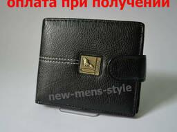 Мужской кожаный кошелек портмоне гаманець бумажник Guttik. ..