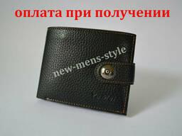 Мужской кожаный кошелек портмоне гаманець бумажник Ya Mei. ..