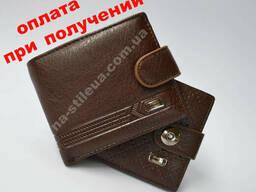 Мужской кожаный стильный кошелек клатч портмоне Devis. ..
