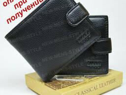 Мужской стильный кожаный кошелек портмоне бумажник Pilusi. ..