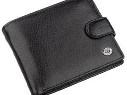 Мужской универсальный кошелек ST Leather Черный, Черный. ..