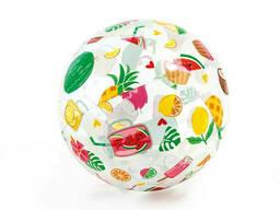 Мяч надувной 59040 (Фрукты)