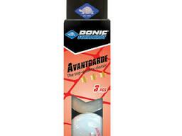 Мячи Donic Advantgarde 3* 40+ 3шт white