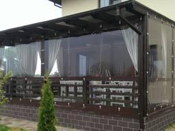 Мягкие окна пвх для беседок, кафе, веранды, террасы от 390 г