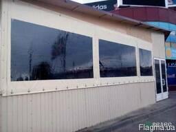 Мягкие окна ( шторы ) ПВХ для летнего кафе, беседки, веранды - фото 3