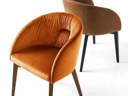 Мягкое кресло Филип Waldberg мягкое в гостиную, кабинет, кафе Бук, до 110 кг, Коричневый