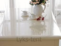 Мягкое стекло на стол, силиконовая скатерть