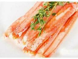 Мясо краба натуральное 1-я фаланга, VIP качество, с\м