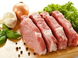 Мясо (охлажденное и с/м) свинина