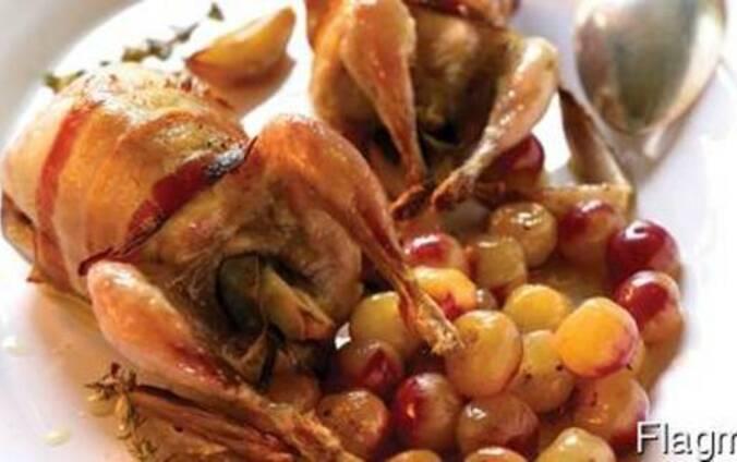 Мясо перепелов (тушка 200-220 гр. )