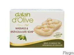 Мыло массажное антицеллюлитное Dalan D'olive 150гр.