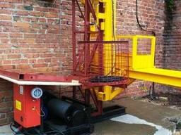 Н-69 м. Мачтовый подъёмник для подачи стройматериалов 500 кг