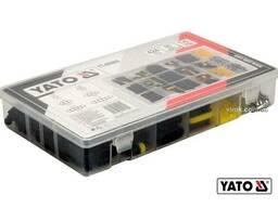 Набір герметичних роз'ємів для електричних контактів YATO 1-6 PIN 424 шт