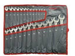 Набір ключів комбінованих 25пр. (6-28, 30, 32 мм) на полотні, FK-5261P (PL) Forcekraft